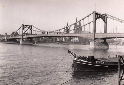 Die alte Hindenburgbrücke