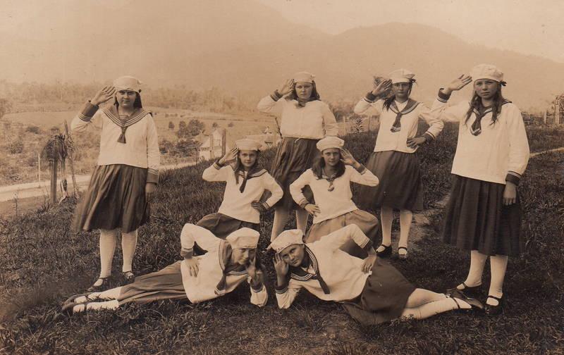 jugend, Jugendliche, Matrose, matrosenuniform, mode