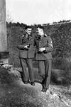 Wehrmachtssoldaten im Gespräch