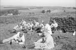 Soldaten auf der Wiese