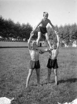 Jungen-Pyramide
