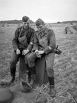 Soldaten auf dem Feld
