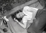 Auf der Picknickdecke