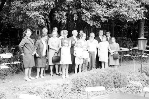 Gruppenfoto auf dem Weg