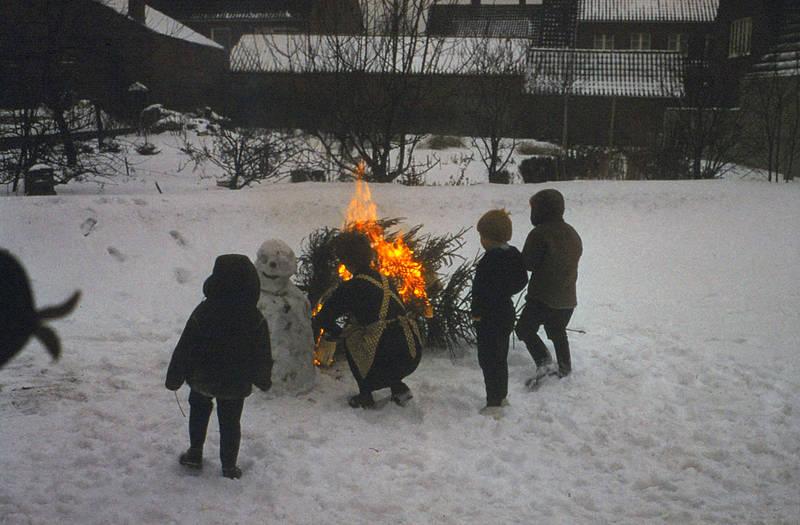 Feuer, Jacke, Kindheit, schnee, Tanne