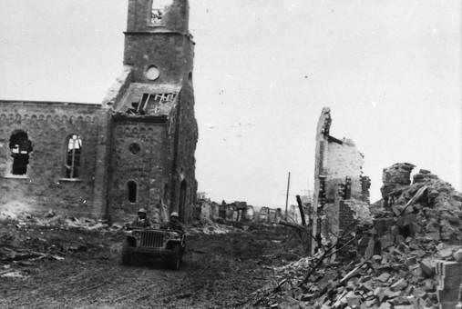 Zerstörte Kirche