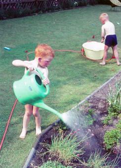 Wasserspaß im Garten