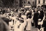 Prozession am Leipziger Platz