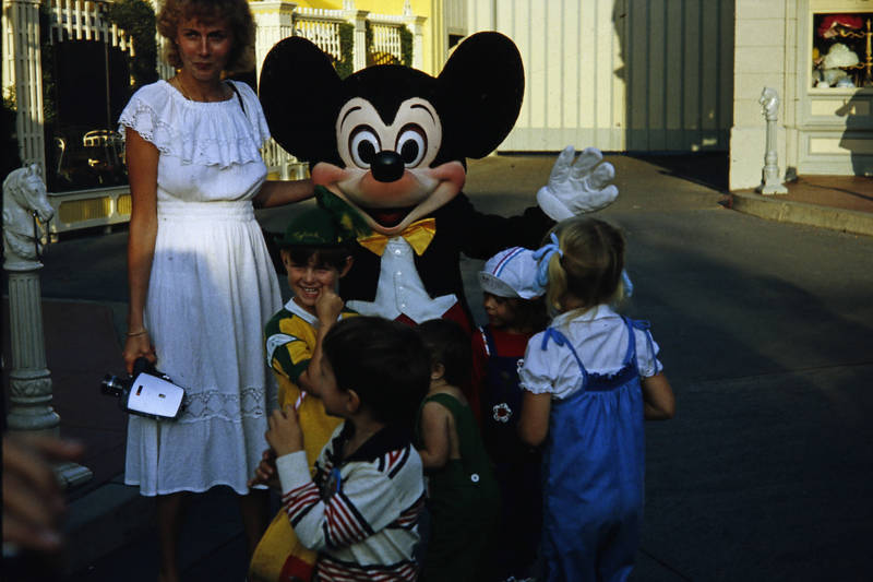 disneyland, disneyworld, Kamera, kind, Kindheit, Mickey Mouse, micky maus