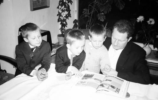 Lesen mit drei Kindern