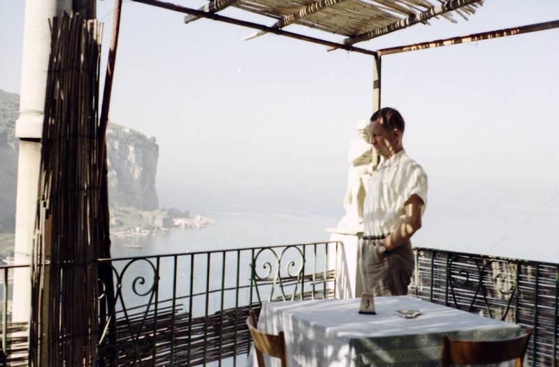 Aussicht, Balkon, Felsen, Stuhl, tisch, urlaub, Urlaubsreise