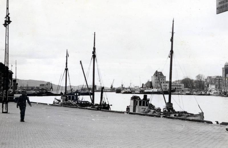 Bergen, boot, Fischer, Fischerboot, Hafen, Norwegen, Ufer, Uniform