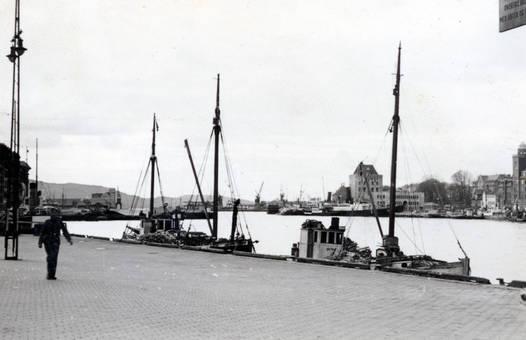 Fischerboote in Bergen