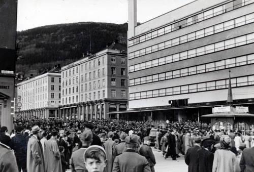 Innenstadt von Bergen