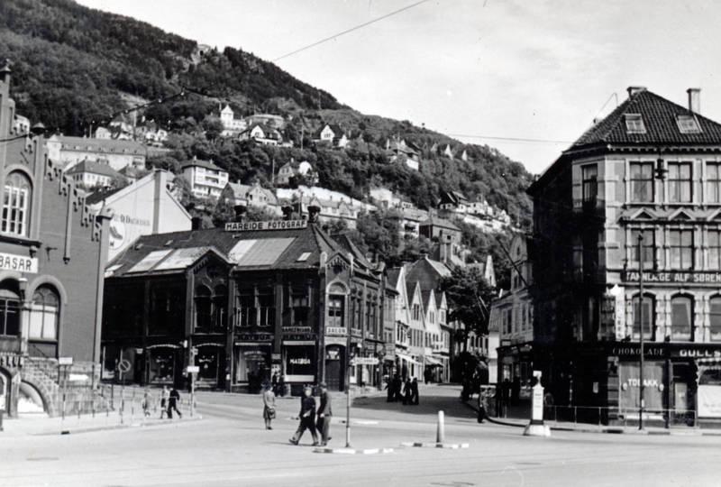 basar, haus, Kreuzung, Mareide Fotograf, Norwegen, straße, Straßenkreuzung