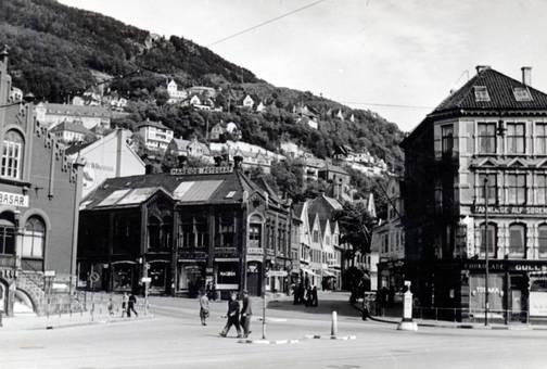 Kreuzung in Bergen