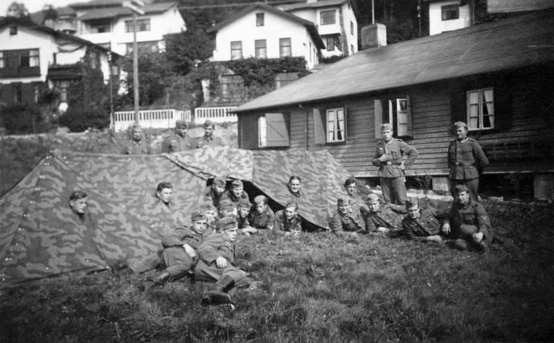 haus, Nationalsozialismus, soldat, Uniform, zelt, zweiter weltkrieg