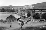 Provisorische Brücke