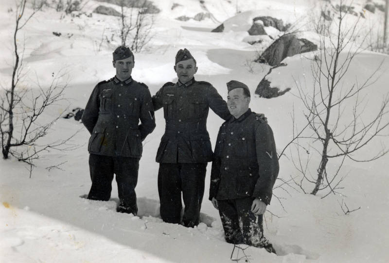 ast, Nationalsozialismus, schnee, soldat, Stein, Uniform, winter