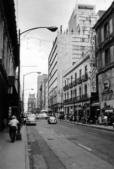 Straße in Mexiko