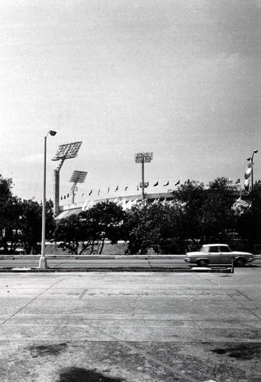 Estadio Olímpico Universitario, Fußballstadion, sport, Stadion, straße