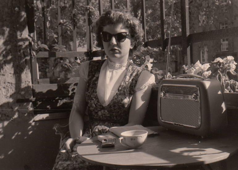 mode, Radio, rauchen, sonnenbrille, tasse