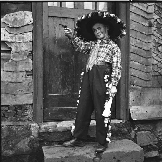 cowboy, karneval, Kindheit, Kostüm, verkleidung
