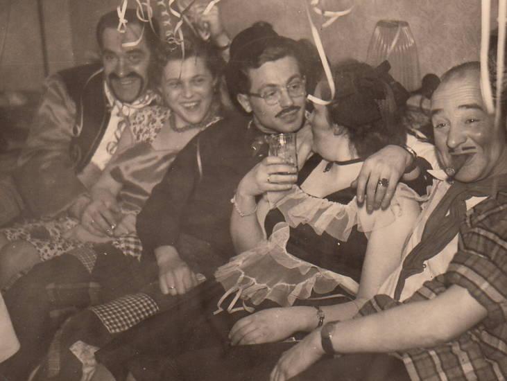 Brille, karneval, köln, Luftschlange, verkleidung, Zigarre