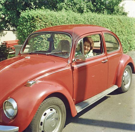 auto, käfer, KFZ, PKW, Rot, vw, VW Käfer