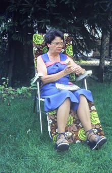 Freizeit im Garten