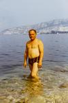 Baden im Gardasee in Torbole