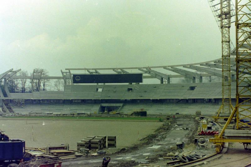Baustelle, köln, Müngersdorfer Stadion