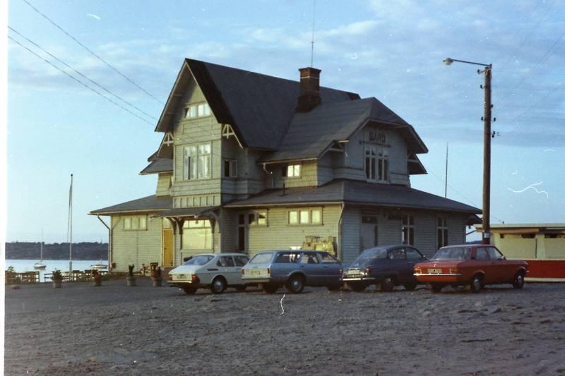 ascona-a, auto, bahnhof, ford-taunus-turnier, KFZ, knudsen, Opel, PKW, saab-900, saab-96, Schweden