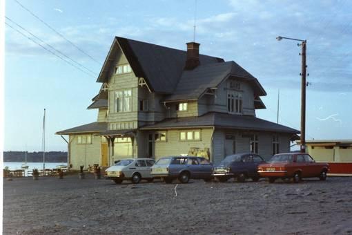 Bahnhof von Särö in Schweden