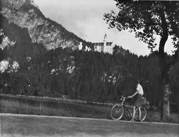 fahrrad, fahrradreise, neuschwanstein, Schloss, schwangau