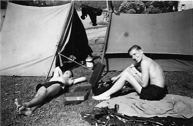 ausflug, camping, Campingplatz, saarburg, sonnen, zelt, zelten