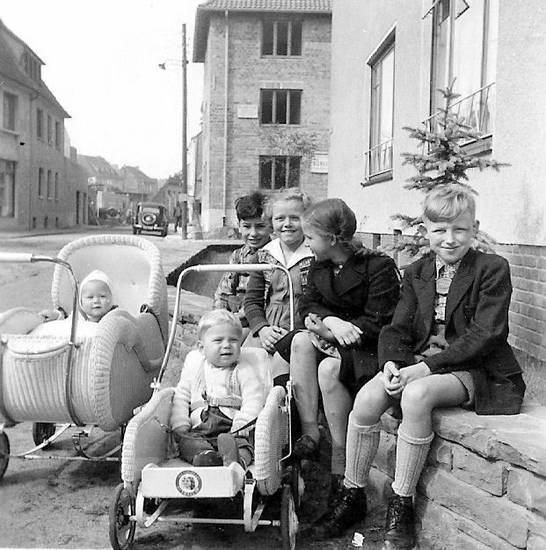 kinder, kinderwagen, Kindheit, münster