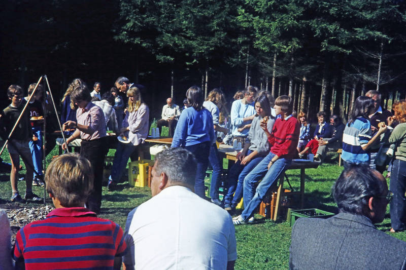 camping, Campingplatz, essen, Ferienlager, Feuer, grill