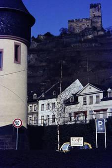 Dicker Turm und Burg Gutenfels