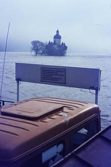 Hochwasser an Pfalzgrafenstein