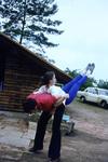 Rückenakrobatik