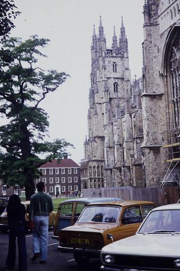auto, GRoßbritannien, KFZ, kirche, london, mini-cooper, morris-minor, PKW, reise, urlaub, vauxhall-viva, Westminster Abbey