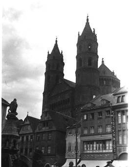 Der Dom St. Peter in Worms