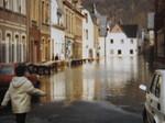 Hochwasser in Neuendorf