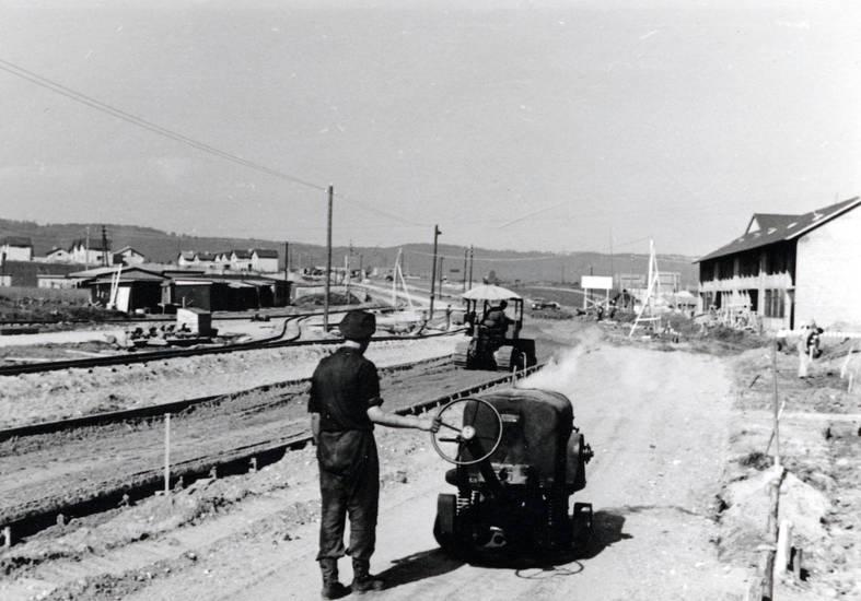 aufbau, Bahnschiene, handwerk, haus, Schienen, Schienenaufbau