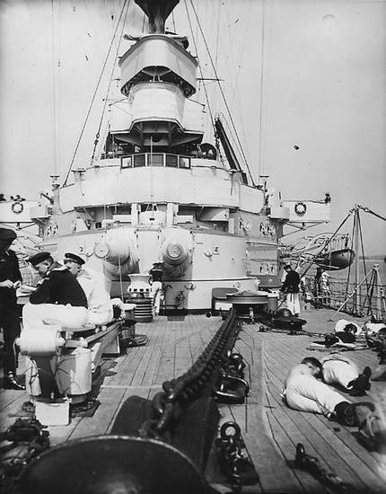 Ankerkette, kanonenrohr, Linienschiff, Matrose, Matrosen, schiff, sms elsass
