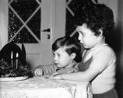 Kinder an Advent