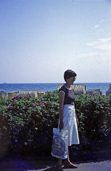 ferien, meer, plastiktüte, reise, strand, Strandkorb, urlaub