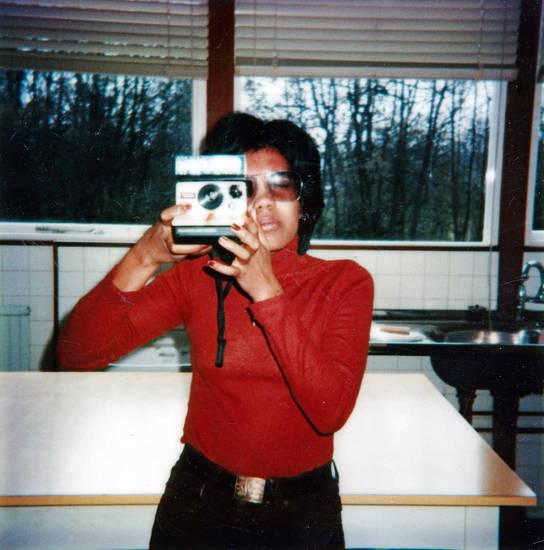 Claygate, Fotografiekurs, mode, N.A.A.F.I, Polaroid, Training Centre