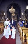 Gang aus der Kirche